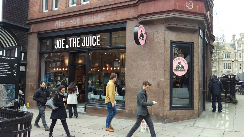 Union act for the Landlord of 335 High Holborn in letting to Joe & The Juice