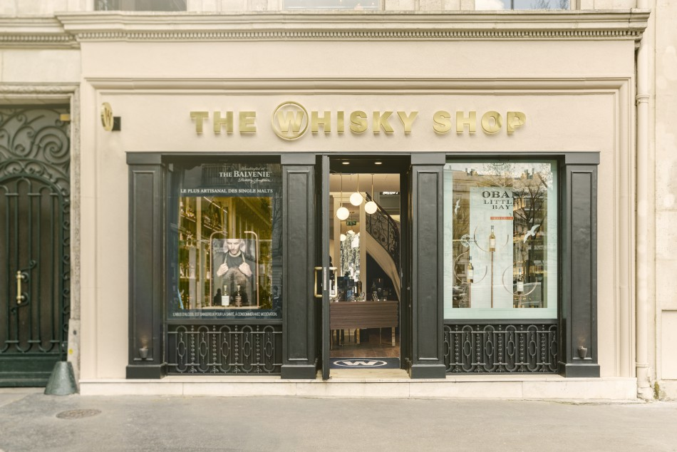 The Whisky Shop Opens Flagship Store in Paris